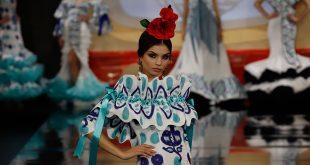 Nueva colección de trajes de flamenca de Antonio Gutiérrez en Simof 2020. Foto: Chema Soler.