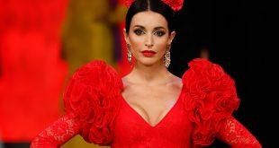 Nueva colección de trajes de flamenca de Hermanas Serrano en Simof 2020. Fotos: Chema Soler.