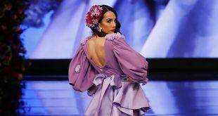Nueva colección de trajes de flamenca de María Ramírez Flamenca en Simof 2020. Foto: Chema Soler.