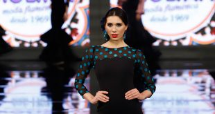 Nueva colección de trajes de flamenca de Molina Moda Flamenca en Simof 2020. Foto: Chema Soler.