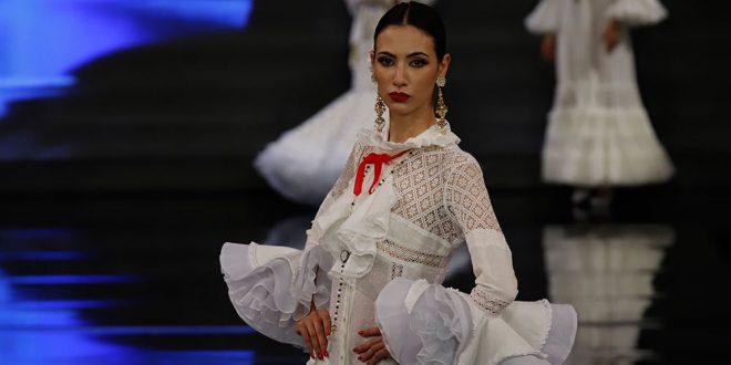 Nueva colección de trajes de flamenca de Sergy & Tapiju en Simof 2020. Foto: Chema Soler.