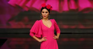 Nueva colección de trajes de flamenca de Sonibel en Simof 2020. Foto: Chema Soler.