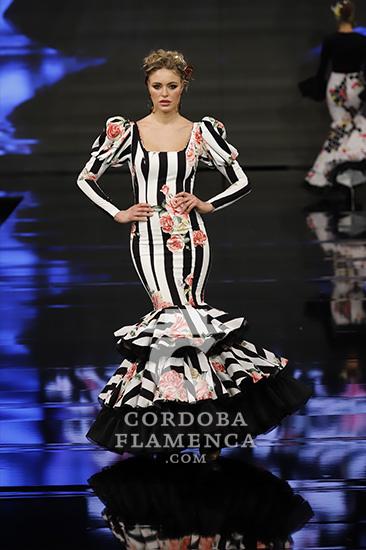 Colección de trajes de flamenca de Yolanda Moda Flamenca en Simof 2020. Fotos: Chema Soler.