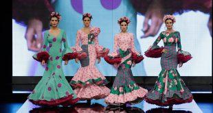 Nueva colección de trajes de flamenca de Yolanda Rivas en Simof. Foto: Chema Soler.