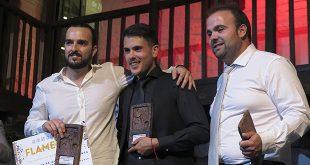 Ganadores del Concurso Talentos Flamencos Modalidad de Guitarra Flamenca. Foto: F.C.Heeren.