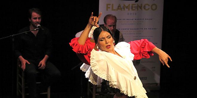 Una de las finalistas del Concurso Talento Flamenco 2019. Foto: Fundación Cristina Heeren.