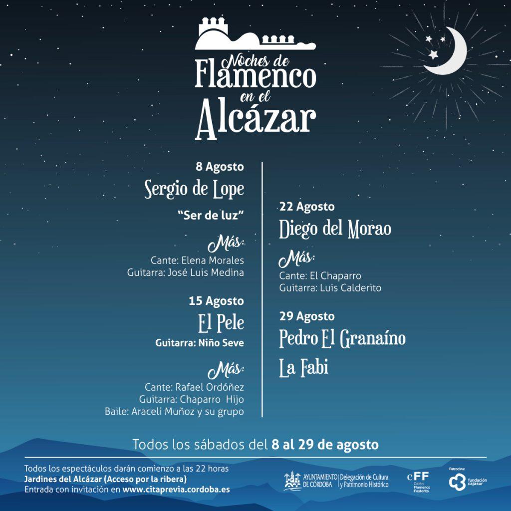 Noches de Flamenco en el Alcázar @ Jardines del Alcázar (Acceso por la ribera) | Córdoba | Andalucía | España