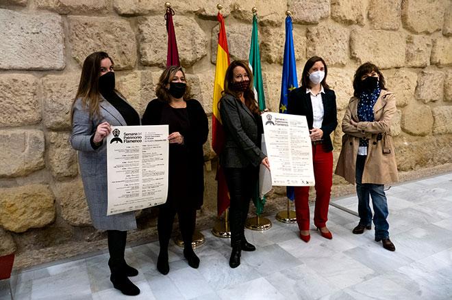 Acto de presentación de la Semana del Patrimonio Flamenco en Córdoba.