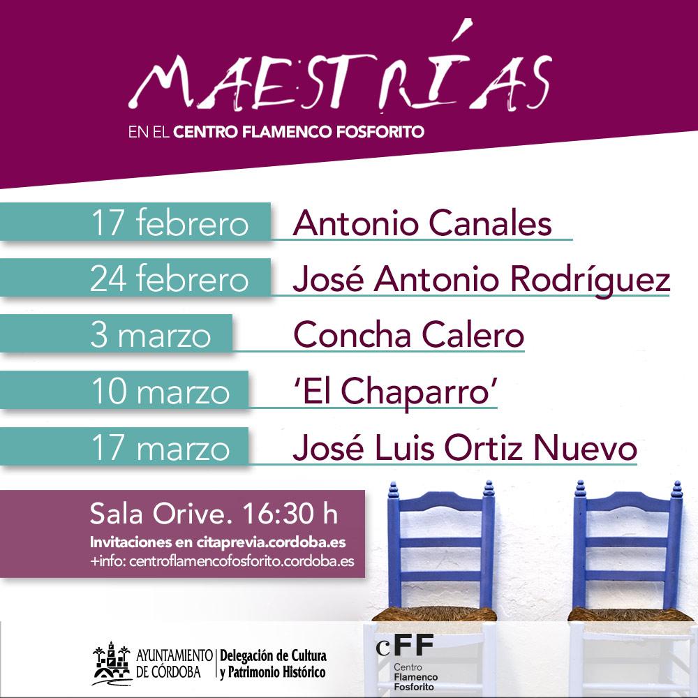 Maestrías @ Sala Orive | Córdoba | Andalucía | España