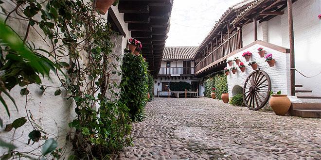 Patio de la Posada del Potro, sede del Centro Flamenco Fosforito. Foto: M. Valverde.