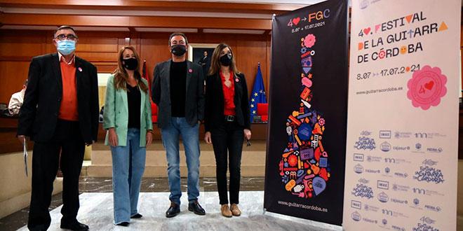 Acto de presentación de la programación del 40º Festival de la Guitarra de Córdoba. Foto: R. Mellado.