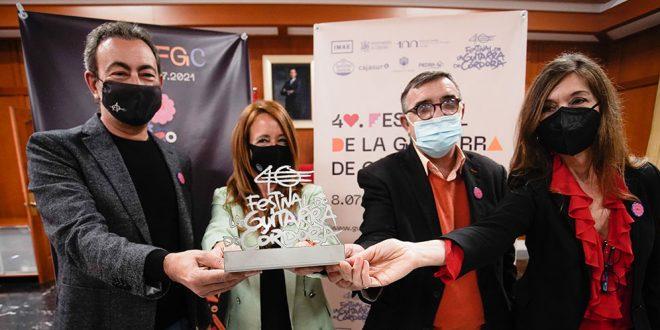 Acto de presentación de la programación del 40º Festival de la Guitarra de Córdoba. Foto: Festival de la Guitarra de Córdoba