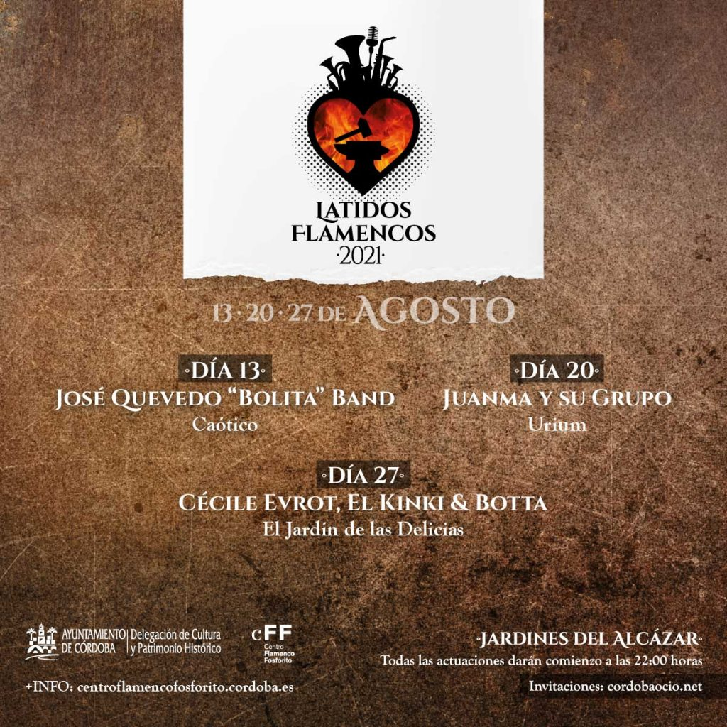 Latidos Flamencos @ Jardines del Alcázar | Córdoba | Andalucía | España