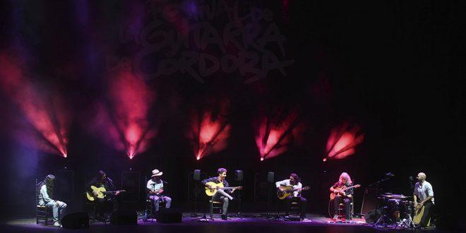 Espectáculo 'Una noche por Paco' en el Festival de la Guitarra 2021. Foto: Festival de la Guitarra.