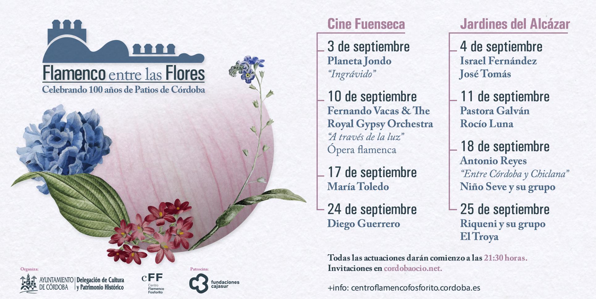 Flamenco entre las flores @ Cine Fuenseca / Jardines Alcázar | Córdoba | Andalucía | España