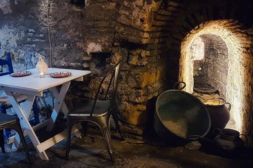 Baños Árabes de Santa María en la Judería de Córdoba. Museo gastronómico. Comida andalusí