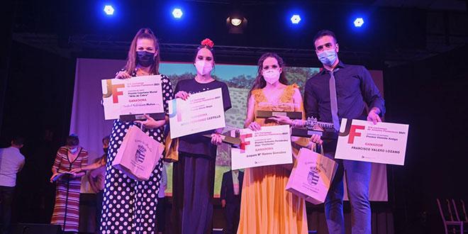 Ganadores del XIX Certamen de Jóvenes Flamencos de Córdoba. Foto: Diputación de Córdoba.