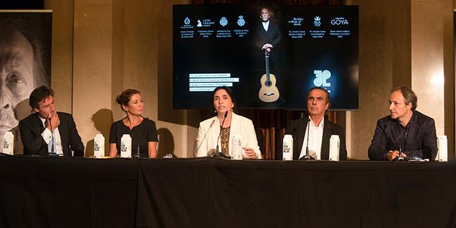 Acto de presentación de la Fundación Paco de Lucía en el Teatro Real de Madrid.